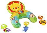 Fisher-Price Y6593 - Spielkissen Baby Spielzeug mit abnehmbaren Beißringen, Babyausstattung ab der...