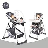Hauck Sit'n Relax Newborn Set - Neugeborenen Aufsatz und Kinderhochstuhl ab Geburt, mit...