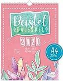 A4+ Bastelkalender 2020 [Aquarell] von Trendstuff by Häfft | Fotokalender, DIY-Kalender,...