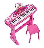 Simba 106830690 - My Music World Girls Standkeyboard 55 cm
