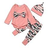 BeautyTop Baby Kleidung Set, 3Pcs Neugeborene...