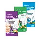 aspUraclip Mini-Inhalator mix (3er Pack)   1x med, 1x fresh & 1x relax - Ein Duft für jede...