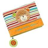 Fehn 091410 Fotobuch Teddy - Weiches Soft-Bilderbuch für 6 Fotos á 10x15 cm - Spielerisch...