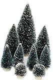 9tlg. DKB Schneetannen Deko Tannenbaum Weihnachtsbaum Weihnachtsdekoration oder Eisenbahn