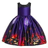 Livoral Baby Jungen Mädchen Kapuzenpulli Hosen Trainingsanzug Hoodie Outfits Set Halloween Kleidung 0-24Month(Lila,110)
