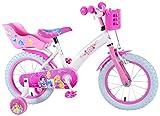 Disney Princess 14 Zoll Prinzessin Kinderfahrrad Mädchenfahrrad Kinder Fahrrad Rad