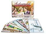 Hochzeitsspiel Hochzeitsgutscheine für das Brautpaar - Das lustige Hochzeits-Spiel mit 4...