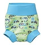 Splash About Unisex-Baby Neue Und Verbesserte Happy Nappy Windel Schwimmen, Green Gecko, 6-12 Monate