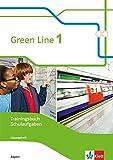 Green Line 1. Ausgabe Bayern: Trainingsbuch Schulaufgaben, Heft mit Lösungen und CD-ROM Klasse 5...
