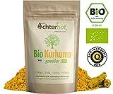 Bio-Kurkuma-Pulver 1kg Kurkumawurzel gemahlen als Gewürz für Paste oder Curcuma Latte natürlich...