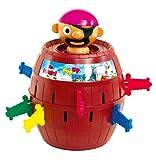 TOMY Kinderspiel 'Pop Up Pirate' - hochwertiges Aktionsspiel für die ganze Familie - Piratenspiel...