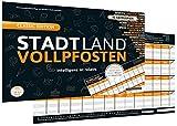 DENKRIESEN Stadt Land Vollpfosten - Intelligenz-ist-relativ - Stadt Land Fluss neu aufgelegt -...