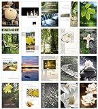 Edition Seidel Set 20 einfühlsame Trauerkarten/Beileidskarten mit Umschlag. Trauerkarte Beileidskarte mit Spruch schreiben (Doppelkarten/Klappkarten mit Briefumschlag)