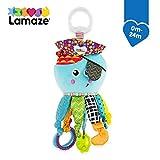 Lamaze Baby Spielzeug Captain Calamari, die Piratenkrake Clip & Go - hochwertiges Kleinkindspielzeug...
