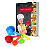 Kinderleichte Becherküche Band 3- 5 Messbecher und ein Rezeptbuch mit 15 Rezepten,  Herzhafte Ofen...