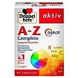 Doppelherz A-Z Complete DEPOT Langzeit-Vitamine – 23 Vitamine, Mineralstoffe & Spurenelementen...