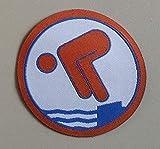 Erlebe Wasser Freischwimmer RUND Stoffabzeichen (Bronze)