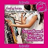 FetteParty1A | Shopping Queen Gutschein | Secondhand Kleidung Erlebnis Geschenk | an 6 Standorten...