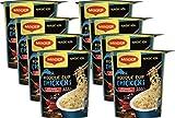 Maggi Magic Asia Chicken Noodle Cup, Instant Nudel-Snack, asiatisches Fertiggericht, mit Gemüse...