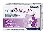 tetesept Femi Baby - Nährstoffe für Kinderwunsch, Schwangerschaft & Stillzeit - 16 Vitamine &...
