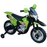 HOMCOM Elektro-Motorrad Kindermotorrad Elektrofahrzeug 3 bis 6 Jahre 3–6 km/h MP3 Musik LED-Licht...