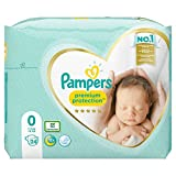Pampers Premium Protection Windeln, Gr. 0,