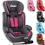 KIDUKU® Autokindersitz Kindersitz Kinderautositz, Sitzschale, universal, zugelassen nach ECE...