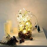 LED Weihnachtsbaum 2 M 20 LEDS Lichterketten Weihnachten Dekoration (ohne Batterie)