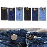 Hosen Erweiterung, 6 Pack, für Kinder, Damen und Herren, Hosenbund Erweiterung, verlängert Hosen...