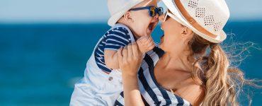 UV-Schutzkleidung fürs Baby