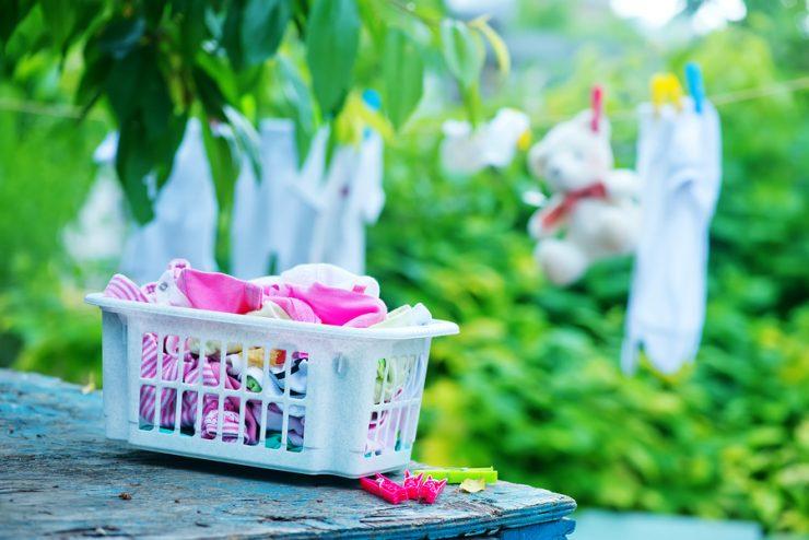 Babysachen waschen