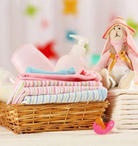 Ausstattung für das Baby
