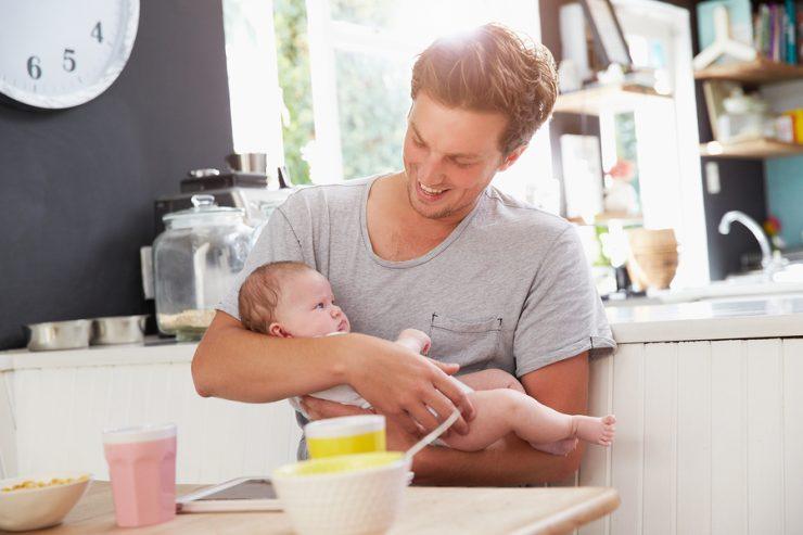 Beikost für das Baby