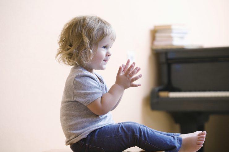 Baby und Musik