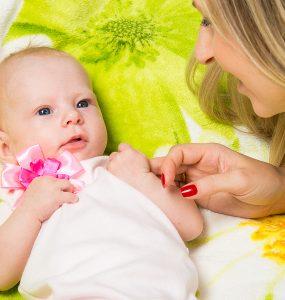 Baby: 13 Wochen alt