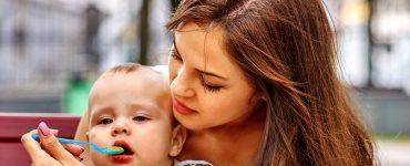 Laktosefreie Babynahrung
