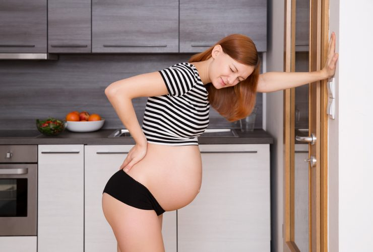 Schmerzen am Ischias in der Schwangerschaft