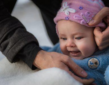 Baby-Erstausstattung für den Winter