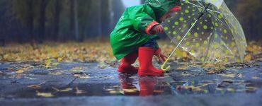 Regenbekleidung fürs Baby